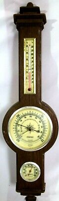 Vintage Springfield Wall Hanging Weather Station, Humidity, Temp, Barometer