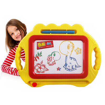Magnetic Drawing Board Sketch Pad Doodle Writing Crafts Art for Children Kid