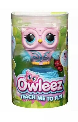 Owleez Interactive Flying Pet Toy Drone Helicopter - PINK - NEW In Hand