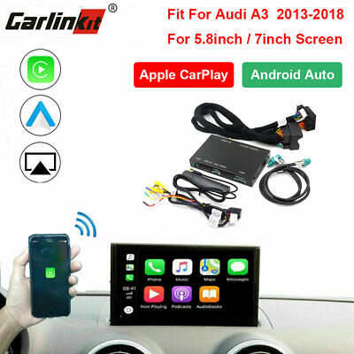 Carlinkit Fit For Audi A3 Wireless CarPlay Android Auto Mirrorlink Retrofit Kits