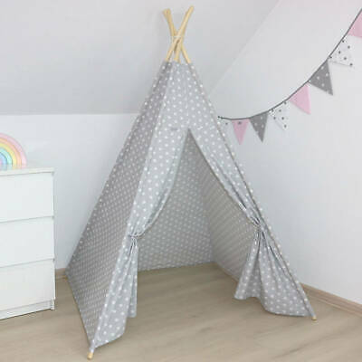 Large Teepee Kids Tent Wigwam 160cm Childrens Indoor/Outdoor Play House Fun Gift