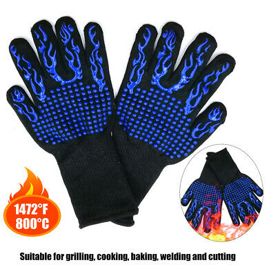 1pc heat resistant gloves kitchen pot holders cooking oven mitts gripp MD  TPI