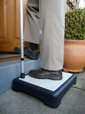 Instant Height Non Slip Outdoor Step Half Step Instantly, Mobility Aid