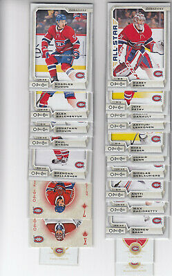 18/19 OPC Montreal Canadiens Team Set - Price Gallagher +