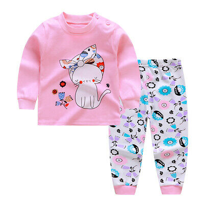 Toddlers Tops Infants Pants Newborn Warm Tops Fashion Baby Printed Pants