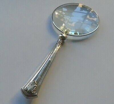 C.H.Beatson HM Silver Handle Magnifying Glass Sheffield 1927