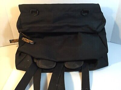Outward Hound Black Backpack Pet Travel Gear For Dog To Carry With Compartments