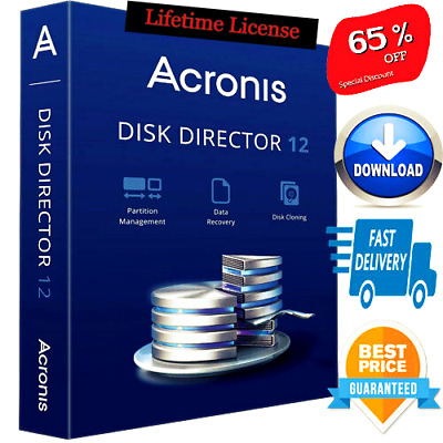 🔥Acronis Disk Director 12.5 ☑ 5 Devices ☑ Digital Lifetime License key Fast📧🔥