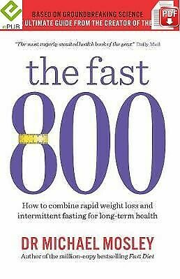 The Fast 800 by Michael Mosley [DIGITAL] FAST DELIVERY
