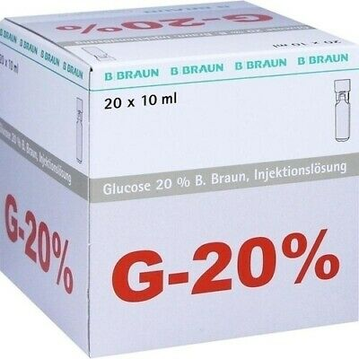 GLUCOSE 20% B.Braun Mini Plasco connect Inj.-Lsg. 200 ml 03158931