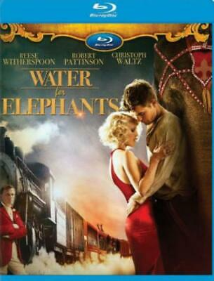 WATER FOR ELEPHANTS (Region A BluRay,US Import,sealed.)