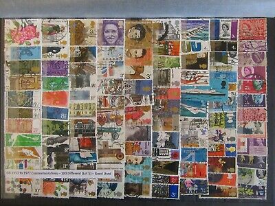 100 GB Commemorative Stamps 1953 - 1977 - Good Used ( Lot 5 )