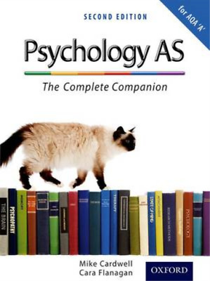 The Complete Companions: Psychology AS - The Complete Companion for AQA 'A' (Tex