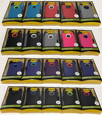 For Apple iPhone 7/8 Case Cover(Belt Clip fits Otterbox Defender series)