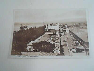 EGYPT - PORT TEWFIEK General View -  Vintage Postcard  §E2488