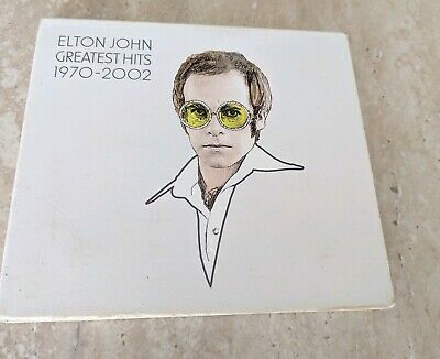 Elton John Greatest Hits 1970-2002 2 Cd Set With Book + Free Shipping