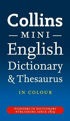 Collins English Dictionary and Thesaurus (Dictionary/Thesaurus), Collins Diction