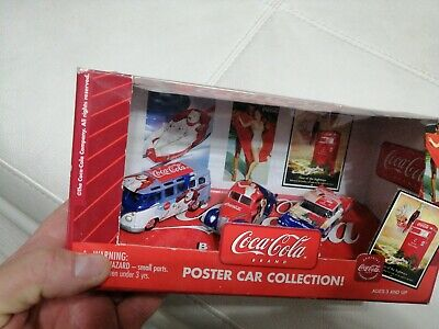 Coca Cola Poster Car Collection Johnny Lightning In Box 2003
