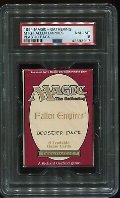 Sealed Fallen Empires Booster Pack Magic the Gathering PSA 8 MtG