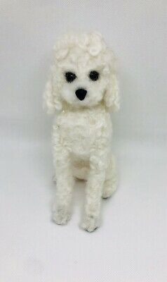 Needle Felted Poodle Handmade Made To Order Pet Ornament Sculpture Gift