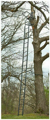 Guide Gear 25 Deluxe Double Shooting Rail Ladder Tree Stand Deer Hunting Outdoor