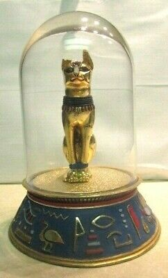 Old Egyptian Statue The Sacred Cat Bast