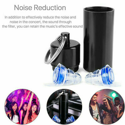 Washable Noise Cancelling Reduce Noise Ear Plugs for Hearing Protection Sleeping