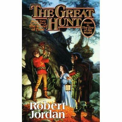 The Great Hunt (Wheel of Time Series #2) - School & Library Binding NEW Robert J
