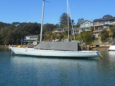 Soling 26ft yacht fiberglass Ex Olympic Class (Pittwater NSW) No Reserve!!
