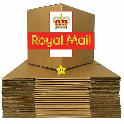 Selection Of Royal Mail Small And Medium Parcel Sizes Postal Cardboard Boxes