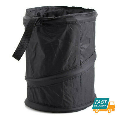 Foldable Car Bin Auto RV Trash Bag Wastebasket Can Litter Container Garbage Bin