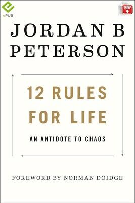 12 Rules for Life by Jordan B. Peterson [DIGITAL] FAST DELIVERY