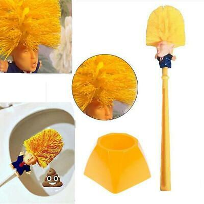 Funny Present Donald Trump Cleaning Tool Presidential Toilet Brush For Home Use