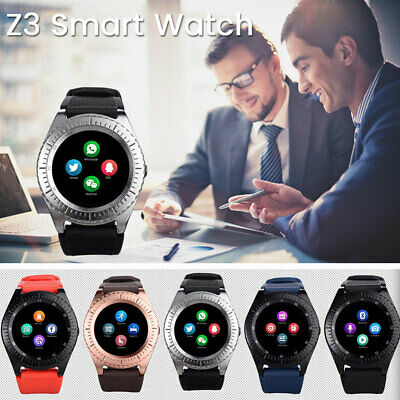 Smartwatch Android Ios Sim Bluetooth Orologio Micro Sd Z3 Telefono Cellulare