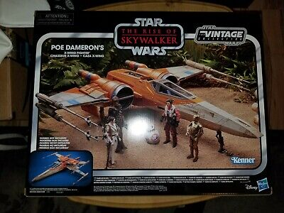 Star Wars Vintage Collection Poe Dameron's X-Wing Fighter Rise of Skywalker NOW!