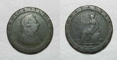 GEORGE III CARTWHEEL PENNY 1797 - Coin type used in Colonial Australia (#3)