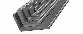 1.2mm Mild Steel Folded Angle - Perfect For Edging & Car Repairs