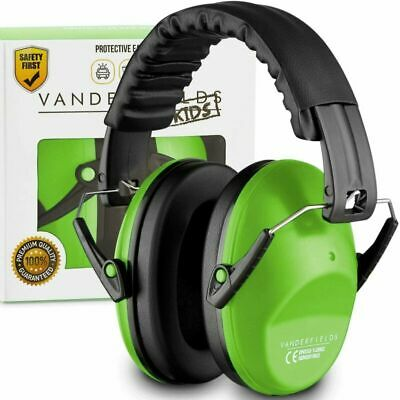 Protection Auditive Bebe Enfant Casques Anti Bruit Tir Ear Green Trooper