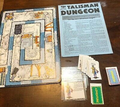 Talisman The Dungeon Expansion - Second Edition - Games Workshop