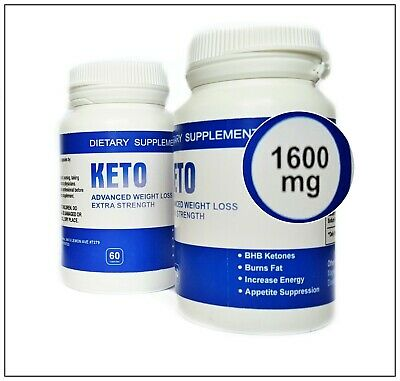 Premium Pure Keto Diet Advanced Weight Loss 60 Caps Extra Strength Ketosis