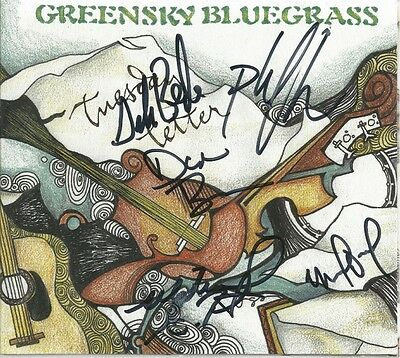 Tuesday Letter * by Greensky Bluegrass (CD, 2006, Big Blue Zoo) Original Signed