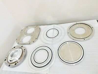 Ultra High Vacuum Chamber Fixtures End Cap Seal Rings
