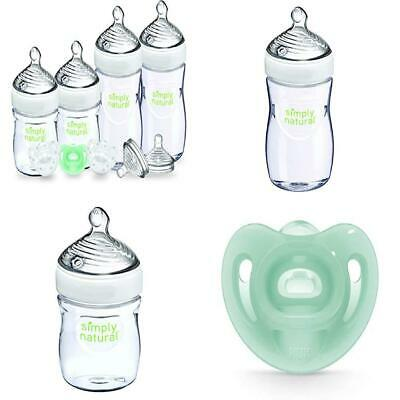 NUK Simply Natural Baby Bottle Newborn, 5 Ounce 5 & 9 (Gift Set)