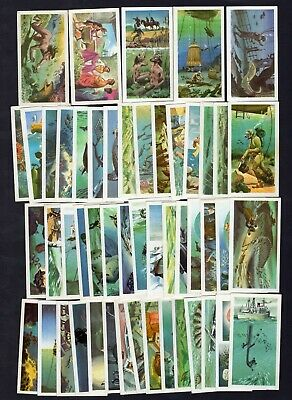 Brooke Bond Tea Cards The Sea Our Other World 1974 Full Set Of 50