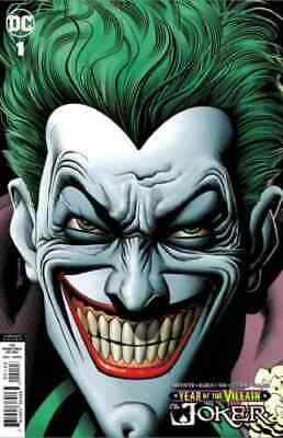 Year of the Villain Joker #1 Brian Bolland Promotional Variant Retailer