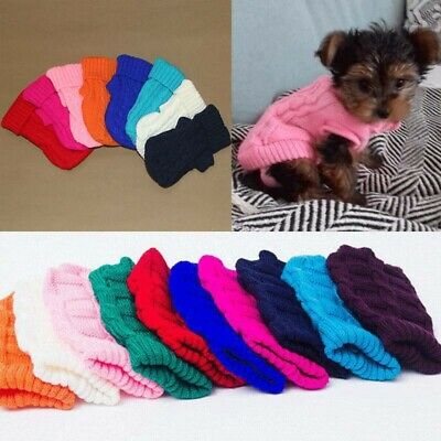 Dog Pet For Small Jacket Cat Coat Sweater Chihuahua Winter Clothes Puppy Dogs