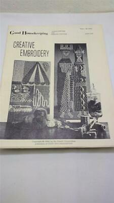 Vintage 1963 Good Housekeeping Embroidery Guide Pattern 3 Mid-Century Designs