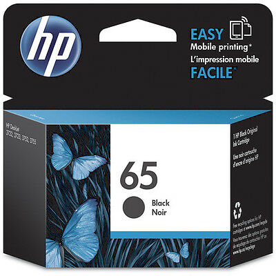 HP Genuine 65B Black EXPIRED 11/19 Ink N9K02AA For DESKJET 3720 3721  120 Pages