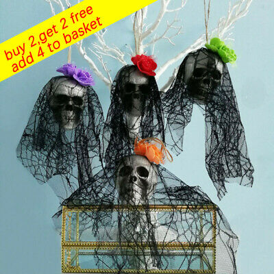 Halloween Hanging Decor Pirates Corpse Skull Haunted House Bar Home Decor UK