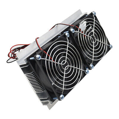 Refrigeration Thermoelectric Semiconductor Peltier Fan Cooling System Kit O7N0